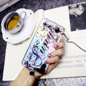 Image 5 - Original personalize o nome longo do floco do laser da corrente do metal capa macia do telefone para o iphone 11 pro 6 6s 7 8 mais x xs max xr 8 mais