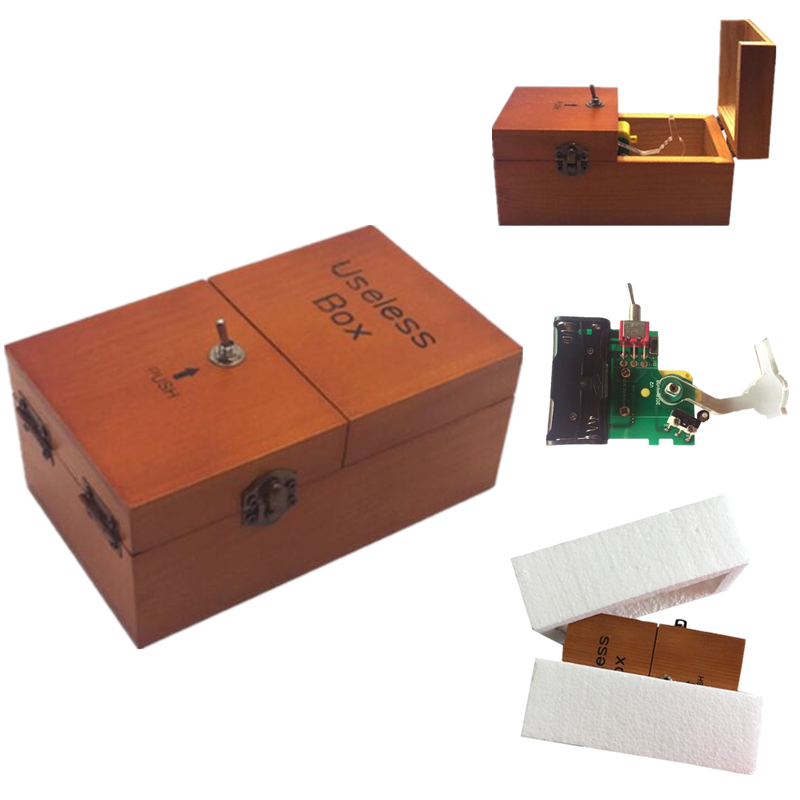 (Lis) amplia/juego/juguetes/inútil caja/creativo adultos juguetes/creativo REGALO/fiesta divertida Juguetes /Novela juguetes de madera para niños