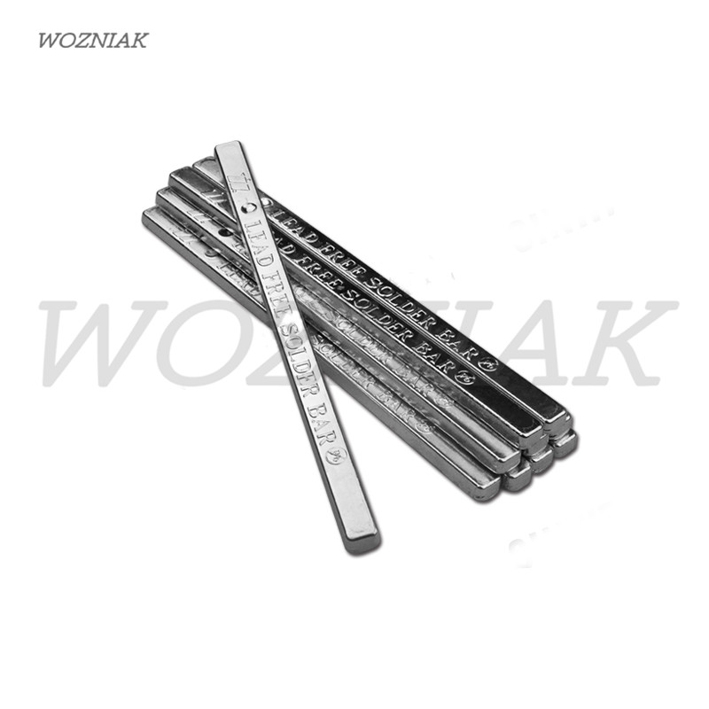 wozniak 500g Sn30% ~ Sn99.3% Lead-free Soldering bar Pure tin article solder soldering tin bar FOR Solder Pot Desoldering Bath proskit soldering iron lead free solder pot soldering desoldering bath tin melting furnace wire tinning tool
