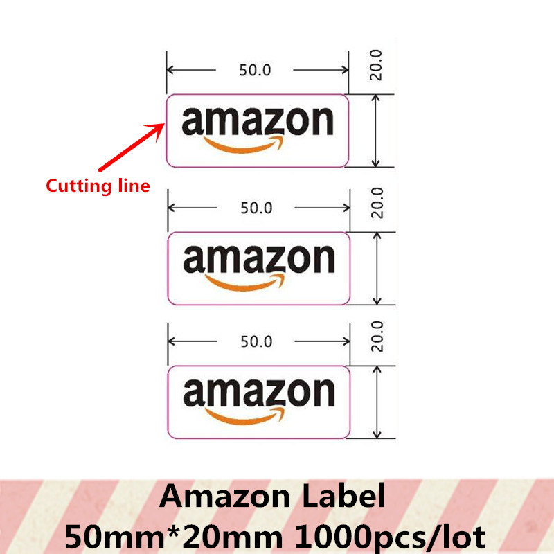 white matte sticker for shipping mailing Amazon FBA A4 Japan