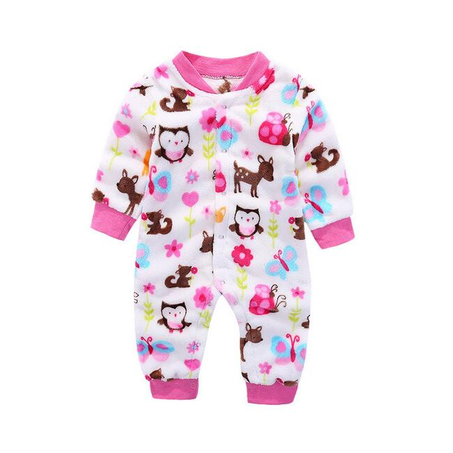 bea72a85023a Fleece Baby Gir Rompers Winter Baby Boy Clothes Newborn Roupas Bebe Boys  Clearance Sale Cotton Girl For Kid Clothing Jumpsuits | Emma Grace