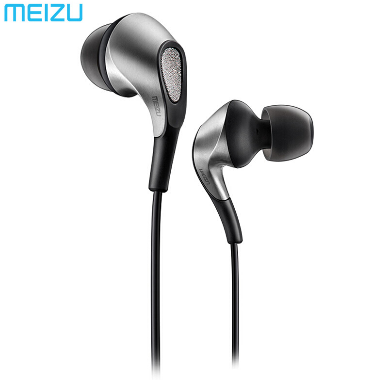 Meizu Flow Triple Driver In-Ear Earphone HIFI Hybrid Earbuds with Microphone and Remote for apple Meizu Xiaomi Huawei Phones