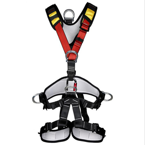 Arnês de Corpo Assento de Segurança da Correia Cinturão de Proteção Xinda Escalada Escalada Inteiro Cinto Ajustável Harness Montanhismo Resgate