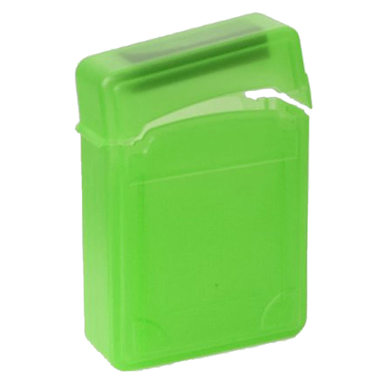 2.5 Дюймов IDE SATA HDD Жесткий Диск Коробка Для Хранения Защитный Чехол-Зеленый