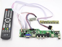 Latumab Kit for LP140WH1 TLC3 TV+HDMI+VGA+USB LCD LED screen Controller Driver Board Free shipping