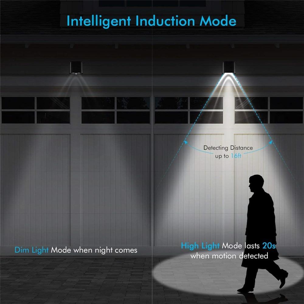 Noite led movimento ativado sensor sem fio