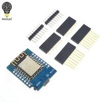 10sets D1 mini Mini NodeMcu 4M bytes Lua WIFI Internet of Things development board based ESP8266 by WAVGAT