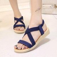 Women Summer Sandals 2017 Hot Sale Bohemia Style Female Sandals Woman Comfortable Flip Flops Shoes