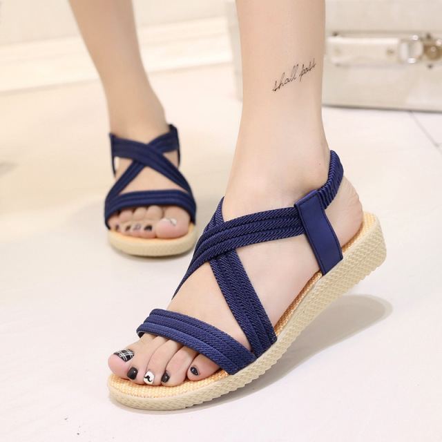 abb02a96c6d5a5 Women sandals 2018 hot sale Bohemia style female summer sandals women  comfortable flip flops women shoes