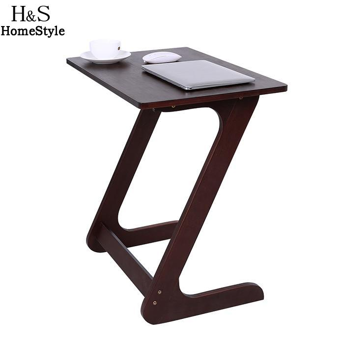 купить Wood Style Z Table Portable Stable Snack Bamboo Table for Home Laptop Table Foldable Notebook Desk по цене 4521.15 рублей