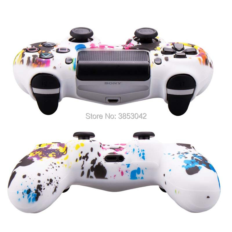 Style; Sincere Hot 1 Set Soft Silicone Anti-slip Protective Sleeve Cover 2 Thumbstick Grips Joystick Caps Cover For Nintend Switch Console Fashionable In