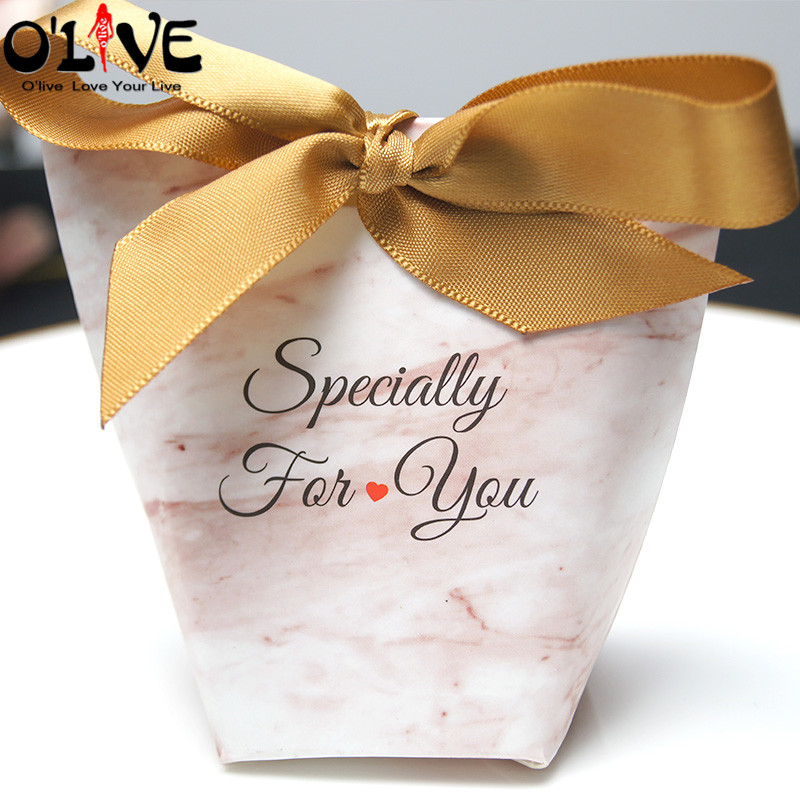 Us 12 59 40 Off 30 Pcs Marble Gift Box Candy Packaging Baby Shower Boy Girl Party Favors Boxes Wedding Bonbonniere Birthday Present Box Sugar In