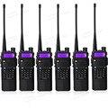 6 unids/lote portátil baofeng UV5R radio de dos vías batería grande 3800 mAh de Doble Banda VHF UHF 136-174/400-520 Mhz walkie talkie UV-5R