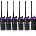 6pcs/lot portable baofeng UV5R two way radio big battery 3800mAh Dual Band UHF VHF 136-174/400-520 Mhz walkie talkie UV-5R