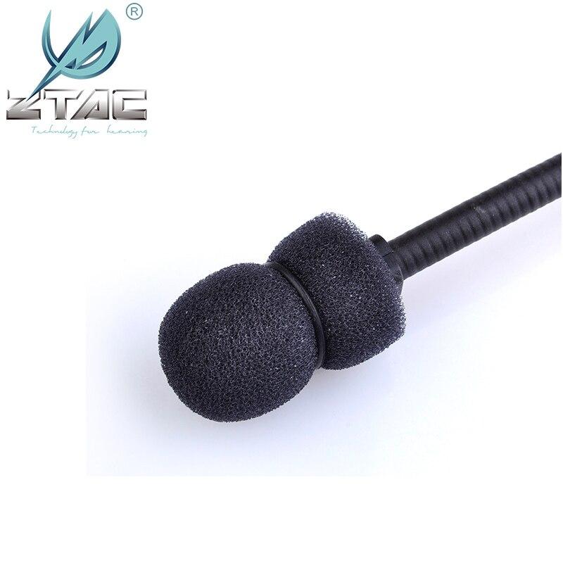 Z Tac Peltor Tactical Headohone микрофон с шумоподавлением Comtac II аксессуар для гарнитуры микрофон часть MicrophoneZ040-2
