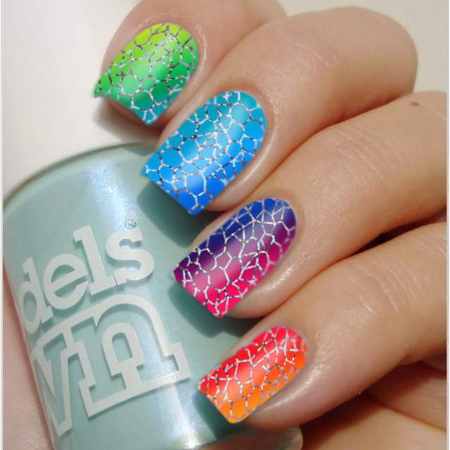Holographic Nail Film | Best Nail Designs 2018
