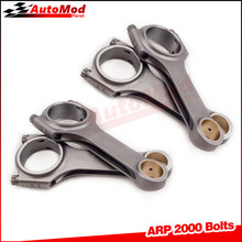 Connecting Rods for Opel Vauxhall CIH Turbo 2.0L 2.2L SP Conrods Con Rod 800 BHP 4340 EN24 Forged Steel Balanced H Beam 4340