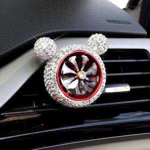 Image 5 - 1 шт., Кристальный автомобильный освежитель воздуха, автомобильный освежитель воздуха, освежитель воздуха, зажим для кондиционера, автомобильный Ароматический диффузор, твердый парфюм