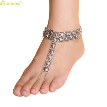 Diomedes Newest Creative Best Price Chain Anklet Trendy Foot Jewelry Beach Sandal Barefoot Jewelry Elegant Charm Anklets