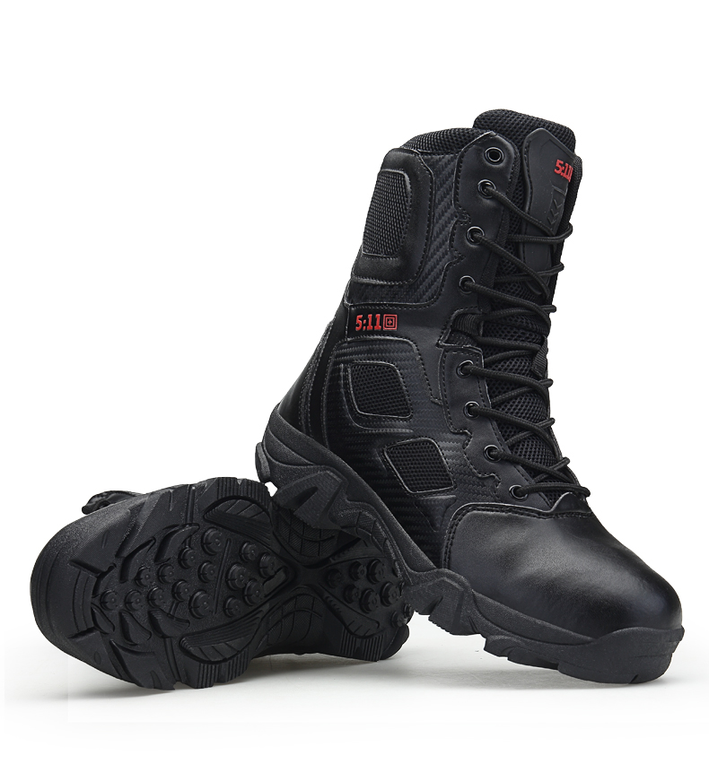 Brand Men\'s Boots Big Size Military boot Chukka Ankle Bot Tactical Army Male Shoes Safety Combat Mens Motocycle Boots (21)