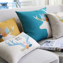 Модная квадратная Подушка/almofadas чехол для взрослых детей 45x45 53x53 60x60, нордический дизайн; чехол для подушки home decore