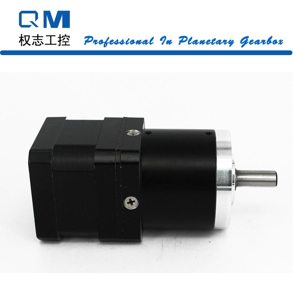 Nema 17 gear stepper motor L=34mm planetary gearbox ratio 30:1 cnc robot pump