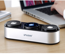 wireless bluetooth speaker metal portable subwoof sound with Mic TF card FM radio AUX MP3 music play loudspeaker