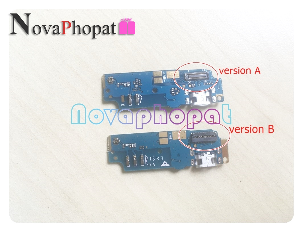 Novaphopat Charger Port For <font><b>Asus</b></font> Zenfone Max ZC550KL USB Dock Charging Port Data Transfer Connect Connector Flex Cable Board image