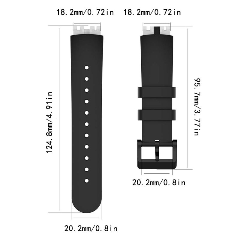 1PC Silicone Replacement Watch Band Strap Bracelet and Repair Tool For Ticwatch S Smartwatch Knight Smart Accessories in Smart Accessories from Consumer Electronics