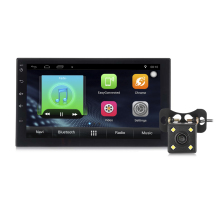 Zeepin 7002 Android 6.0 2 Din Car Radio Player Auto GPS Navigation Bluetooth Car MP5 Player Steering-wheel Rear View Camera WiFi