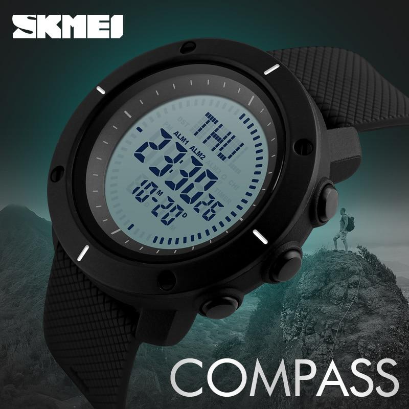 Men's Watches Honesty Zk30 Fashion Sport Watch Men Compass Watch Alarm Clock Chrono Back Light 5bar Waterproof Digital Wristwatch Reloj Hombre 1216 Online Discount Digital Watches