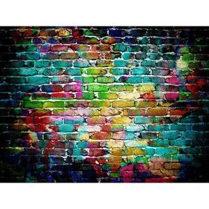Image 3 - 5 tailles brique Texture Photo fond tissu plaque Photo toile de fond Studio photographie accessoires écran décor à la maison Studio accessoires