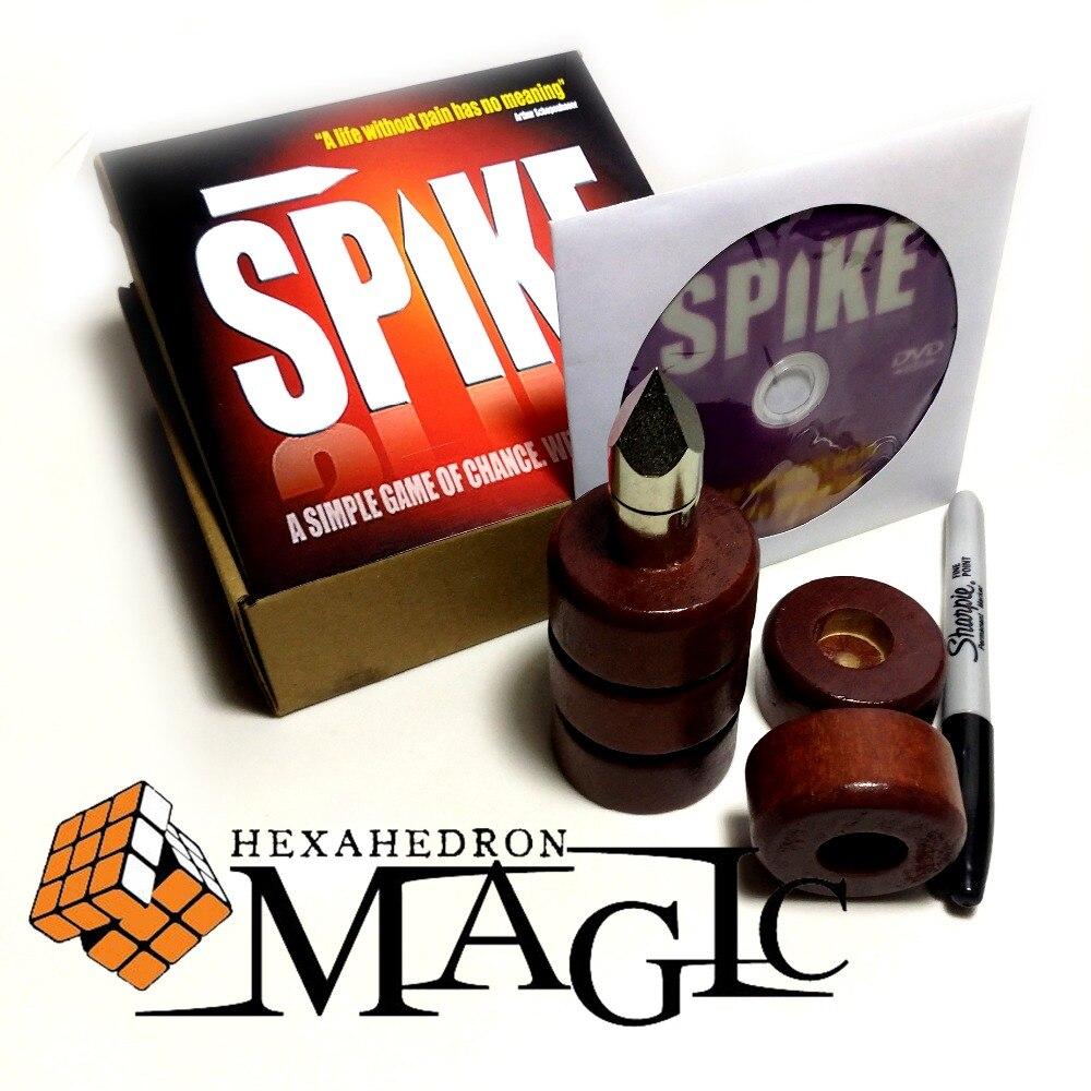 Livraison gratuite Spike Sharpie Edition Devils Nail-Stage magie, mentalisme/gros plan rue produits de tours de magie professionnels