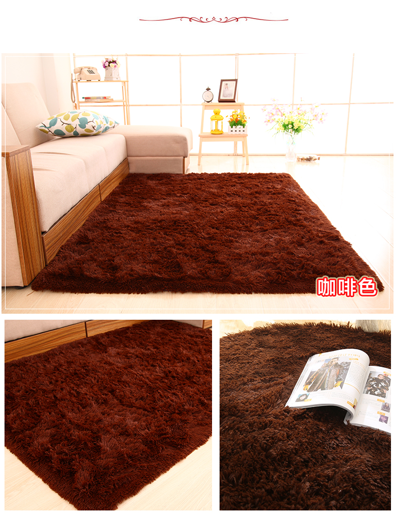 3cm thick carpet simple modern living room carpet bedroom for Living room carpet cost