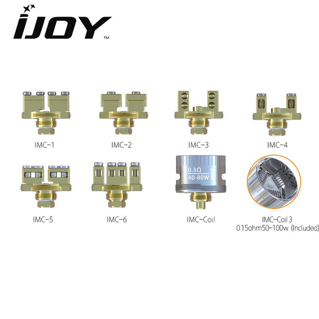 1PCS/LOT Electronic Cigarette IJOY IMC Coil RDA BASE Atomizer Heads for  ijoy RDA rebuildable