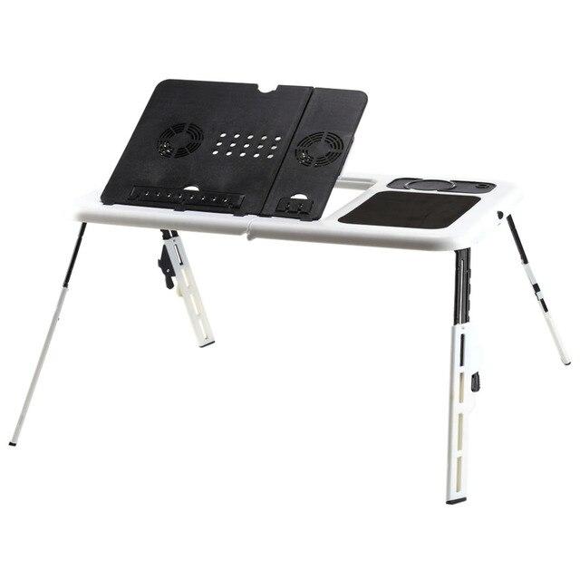 w portable folding laptop desk adjustable computer table stand
