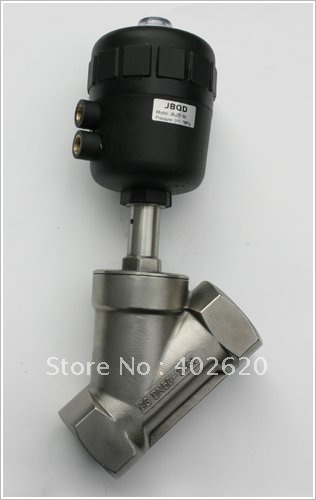 5pcs/lots 1/2 Angle Seat valve, Stainless Steel body DN15 angle valve,