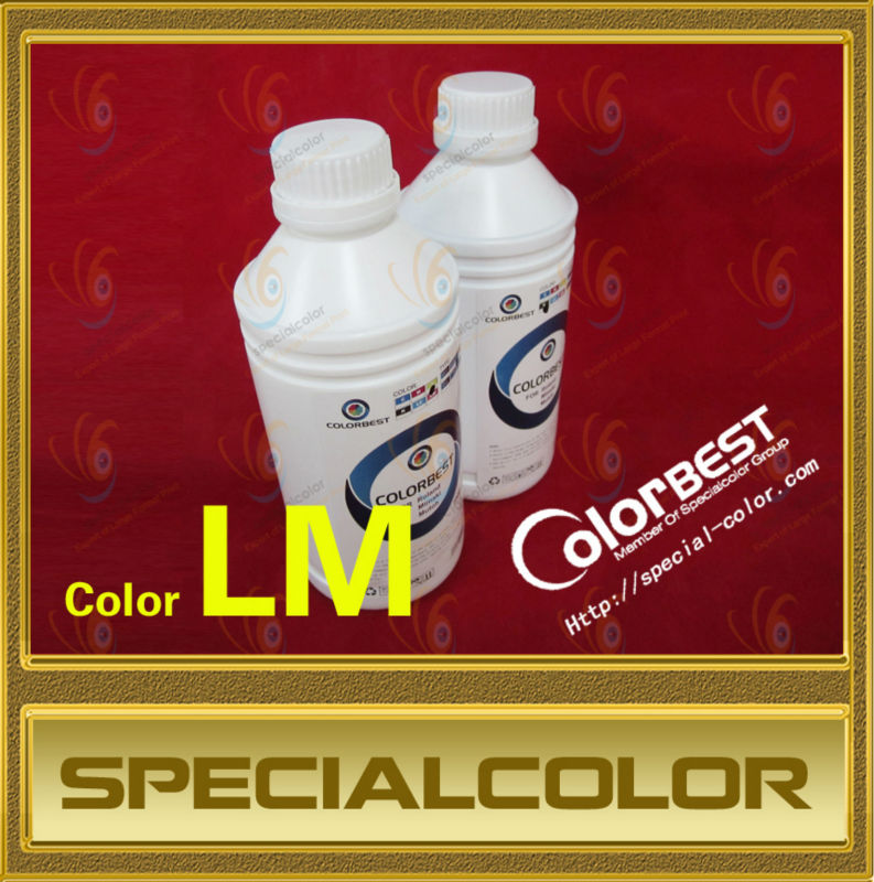 1000ml Textile Pigment Ink In Bottle for Roland/Mimaki/Mutoh Color LM hot sale 1000ml 4 color eco solvent ink in bottle compatible for roland mimaki mutoh printer