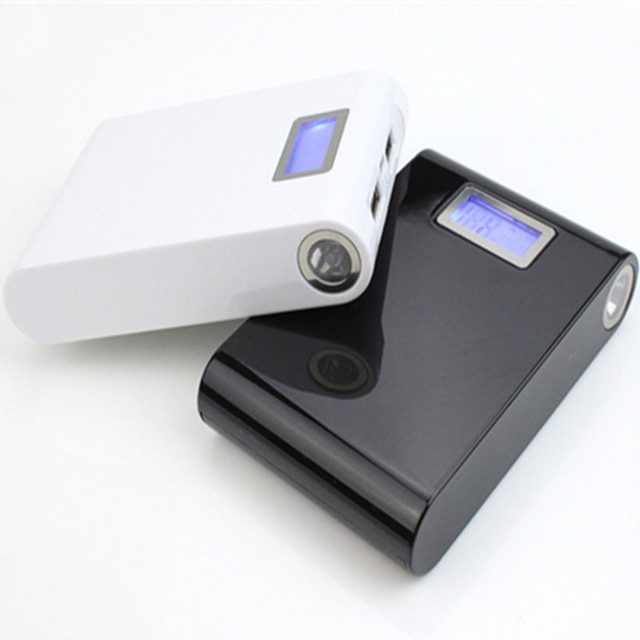 12000 Mah Tablet power bank Charging Dual USB External Battery PowerBank for All Phone Powerbank