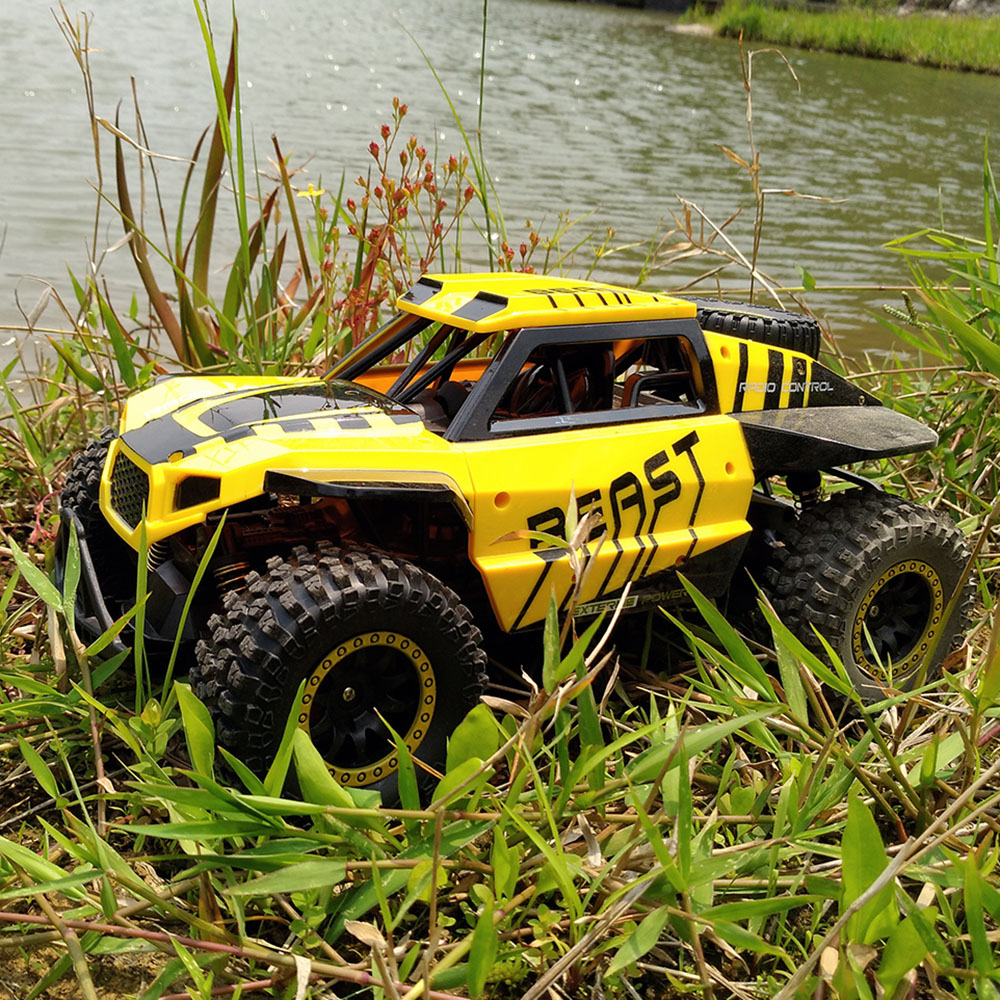 Flytec SL-146A 1/18 2.4GHz 20-25km/h Independent Suspension Spring Off Road Vehicle RC Crawler Car RC Buggy Car Vehicle