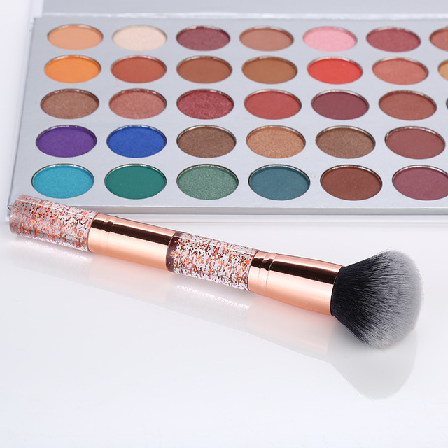 New 1Pc Diamond Glitter Powder Brush Foundation Brush Brand Makeup Brushes Cosmetic Brush Beauty Make Up Tool Pinceaux Maquiagem