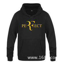 Roger Federer Logo Hoodies Mens 2018 Fashion Cotton RF Perfect Sweatershirts Unisex Thick Pullover