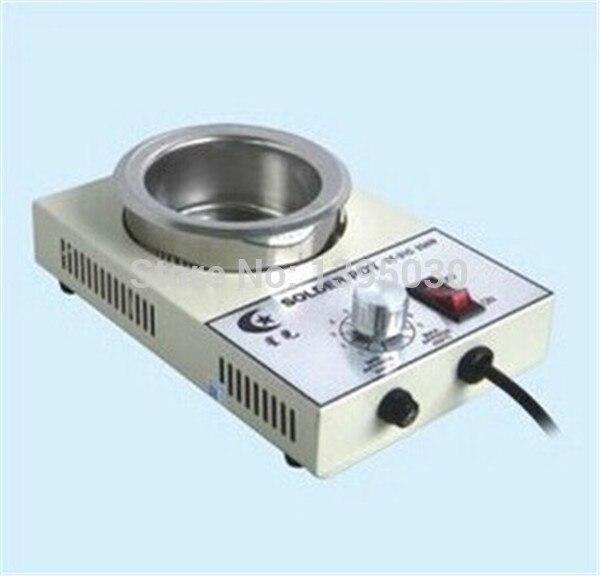 4 pcs lot Baru Solder Pot Solder Pematrian Bath 50mm 220 V 150 W ST21C  ST-21C Perak cdabdaa361