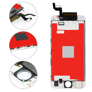 Image 2 - Класс AAAA + + для iPhone 6 6S Plus 7 lcd с 3D силой кодирующий преобразователь сенсорного экрана в сборе для iPhone 6 plus дисплей без битых пикселей