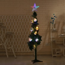Colorful LED Decorative Lights The Top Five Star Of Christmas Tree Shimmers