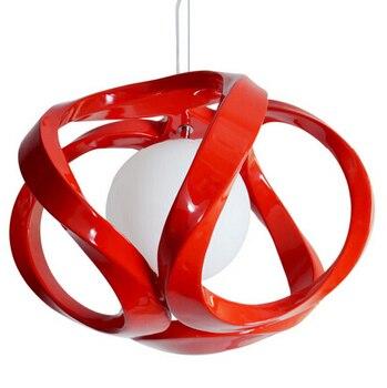 Lampe pendante d'art moderne sculptée creuse de résine de noeud chinois de droplight lampes suspendues modernes pour des restaurants de salle à manger