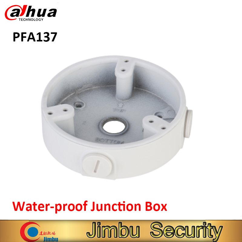цена на DAHUA PFA137 Water-proof Junction box IP Camera Bracket camera Mounts PFA137 CCTV accessory