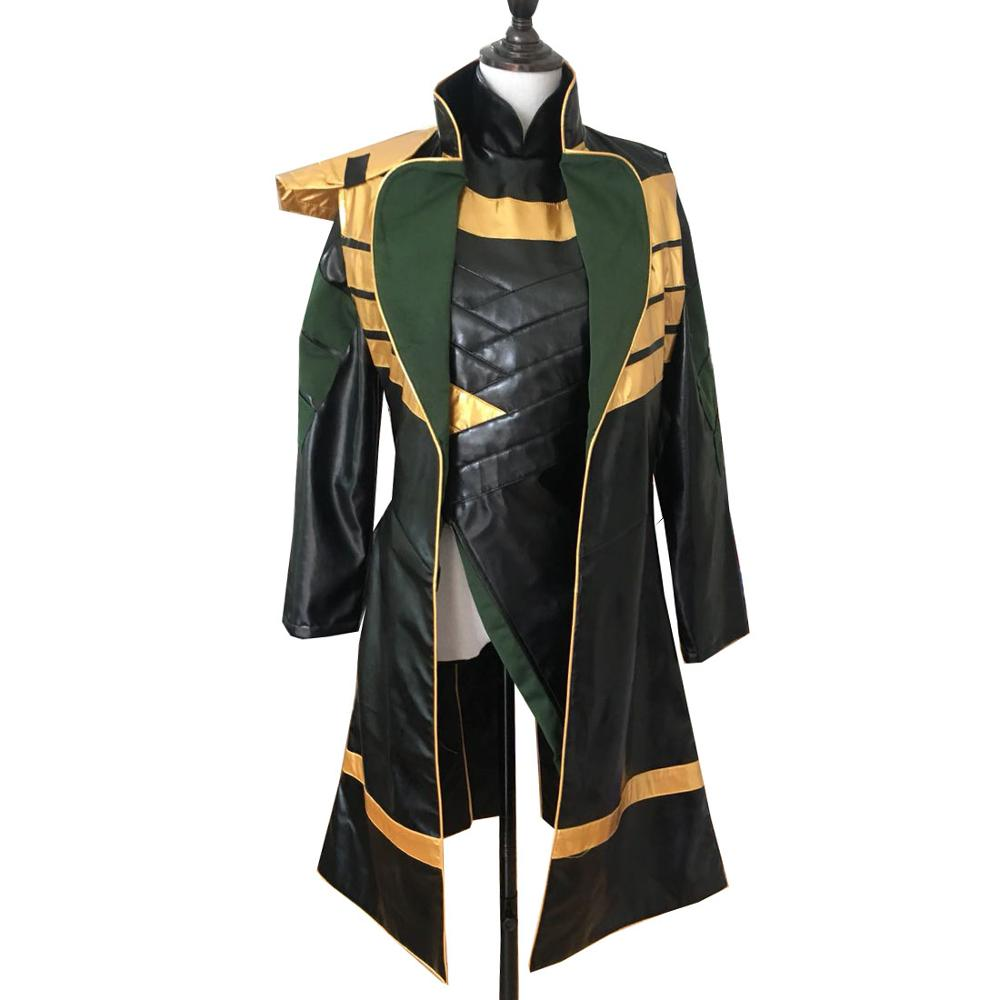 2019 Conjuntos Inteiros de Thor Cosplay The Dark World Loki Cosplay Traje Festa de Halloween Trajes Cosplay