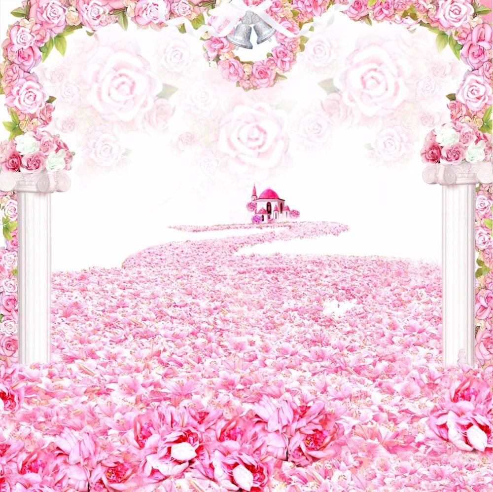3X2 5 M Vinyl Background Customized wedding font b Backdrops b font party font b backdrop - Wedding Party Background