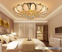 plafondlamp plafonnier led moderne ceiling lamp crystal kristall deckenleuchte Crystal Ceiling Lights Golden K9 Luxury Lamps